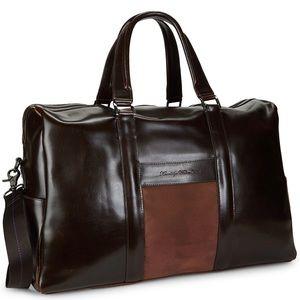 Robert Graham Aegean Leather Weekender Duffle